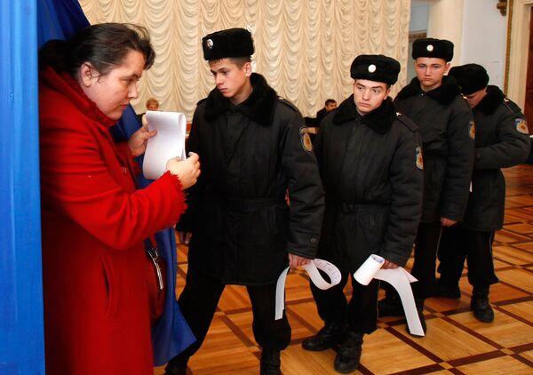 Досрочные парламентские выборы в Молдавии в ноябре 2010 года