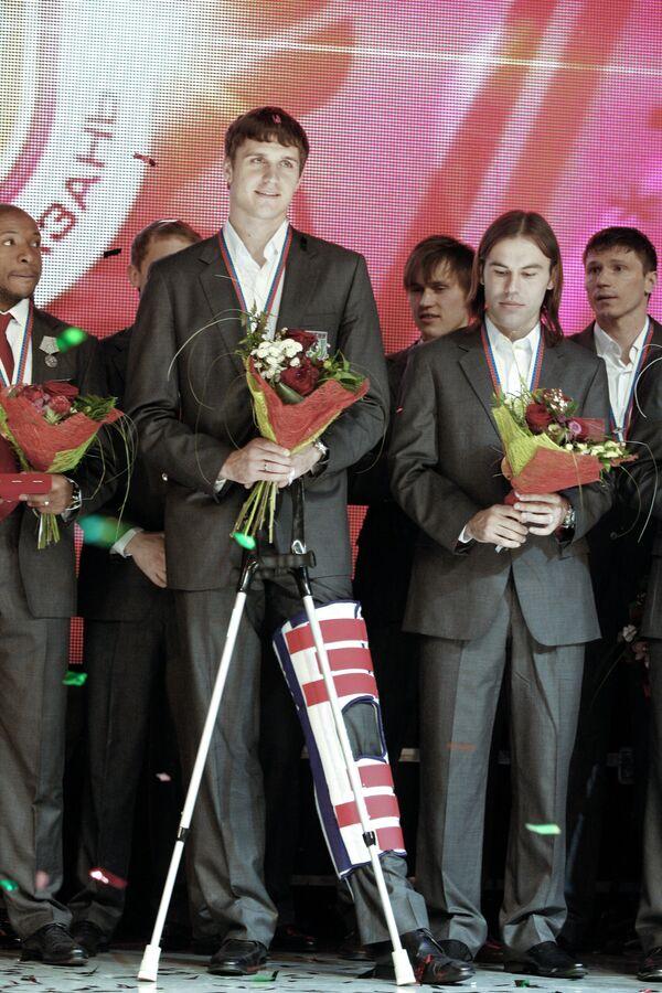 Александр Орехов и Натхо Бибрас (слева направо)