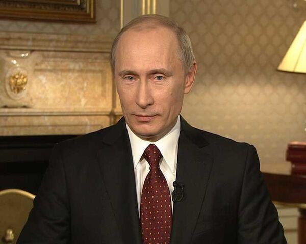 Путин посоветовал США не лезть во внутренние дела России
