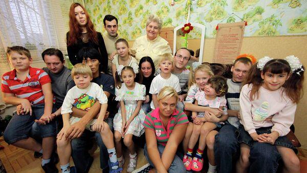 Многодетная семья Элеоноры Павловской