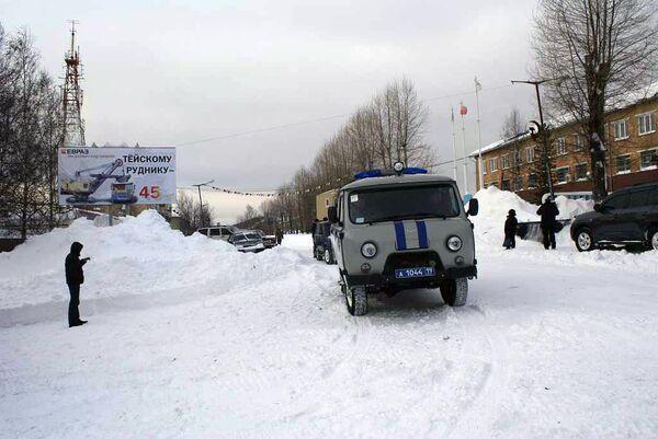Хакасский поселок Вершина Теи, где из-за аварии на энергосетях бех света и тепла остаются 3,5 тысячи человек