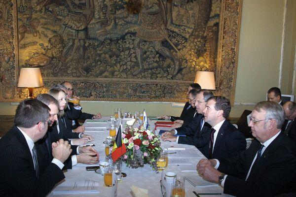 Российско-бельгийские переговоры