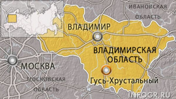 Город Гусь-Хрустальный Владимирской области