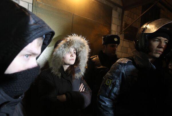 Вдова погибшего болельщика Спартака Егора Свиридова Яна