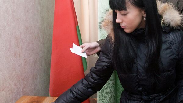 Граждане Белоруссии активно голосовали в первый день досрочных выборов