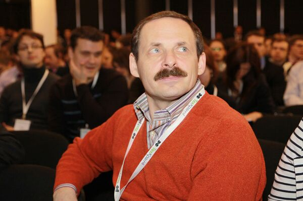Конференция TechCrunch Moscow. Аркадий Волож