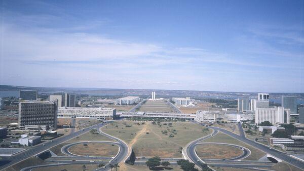 Вид на город Бразилиа. Архивное фото