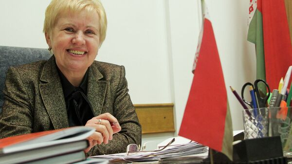 Глава Центризбиркома Белоруссии Лидия Ермошин. Архивное фото