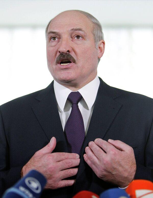 Александр Лукашенко на выборах Белоруссии 19 декабря