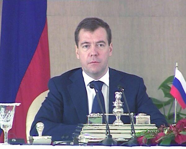 Медведев: террористы подлежат безусловной выдаче и наказанию