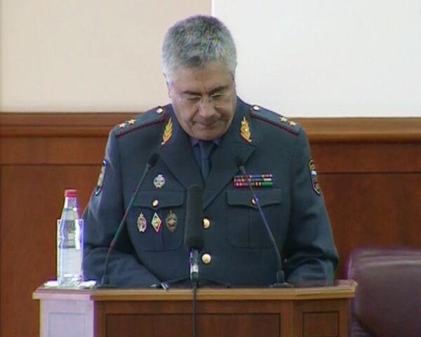 Владимир Колокольцев на заседании Общественного Совета