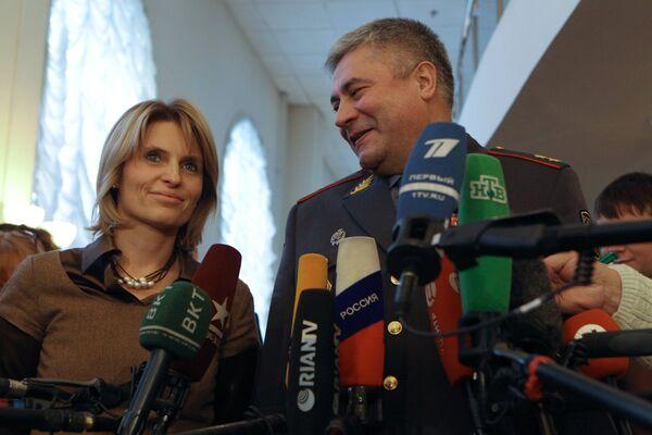 Встреча Владимира Колокольцева с представителями московской общественности