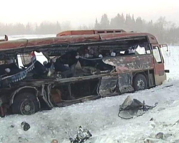 Никто и крикнуть не успел - пассажир автобуса о ДТП в Красноярском крае