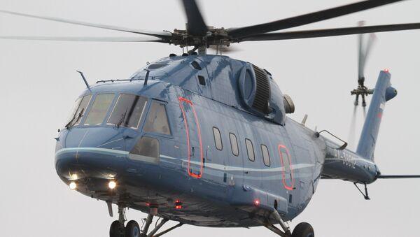 Новый гражданский вертолёт Ми-38