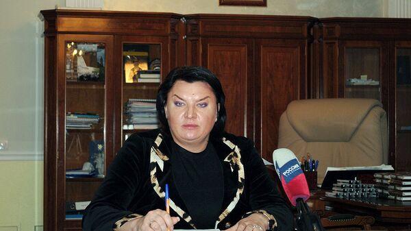 Экс-мэр Тулы Алиса Толкачева. Архив