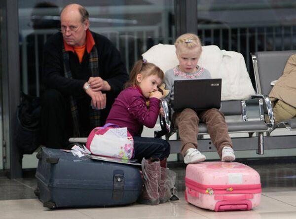 Задержка авиарейсов в аэропорту Шереметьево