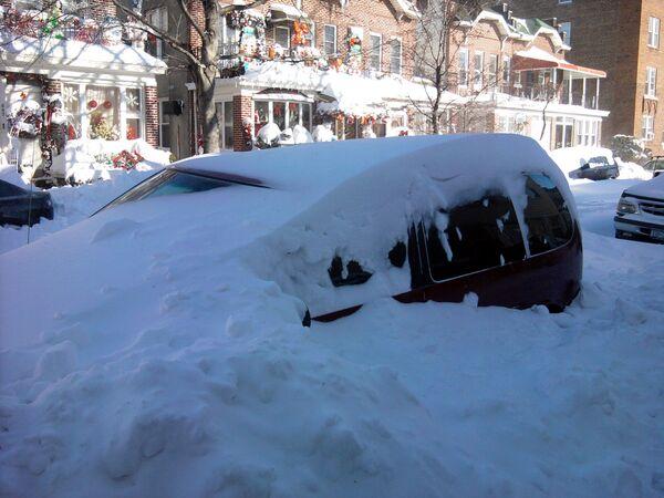 Самый большой снегопад в истории Нью-Йорка