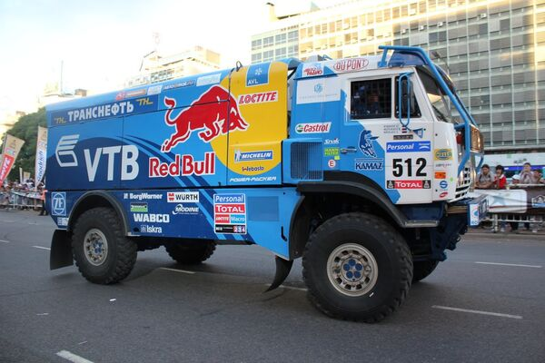 Старт ралли Dakar-2011. Архив