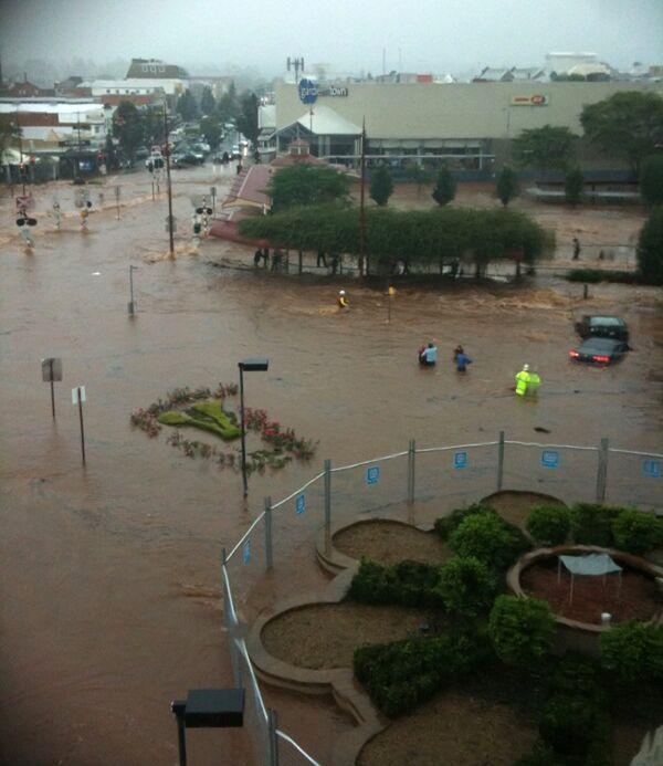 Новая волна наводнений в Австралии