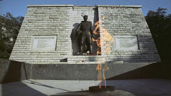 Памятник советскому Воину-освободителю Таллина. Архивное фото