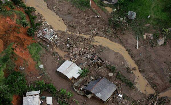 Оползни в Бразилии
