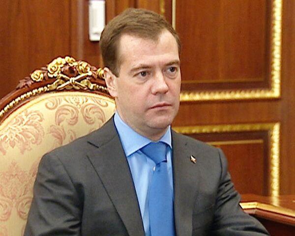 Медведев: без частных инвестиций фармпромышленность в России не развить