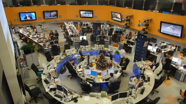 Праздник для участников проекта Ты-репортер в агентстве РИА Новости