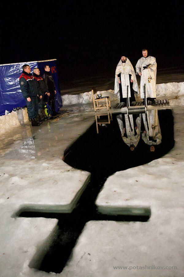 Крещенские купания в Минске