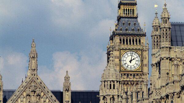 Вестминстерский дворец, где проходят заседания Британского парламента. Архивное фото