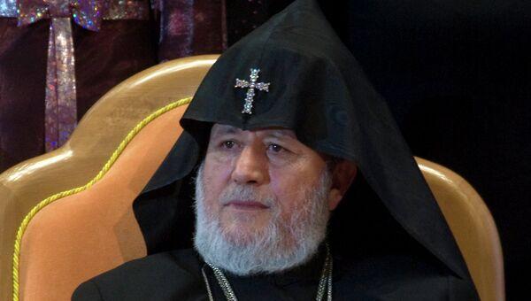 Верховный патриарх и католикос всех армян Гарегин II. Архивное фото