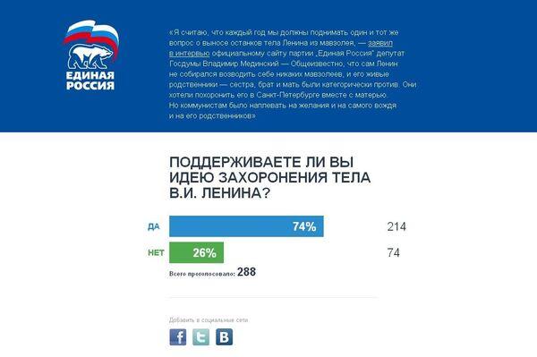 Скриншот сайта goodbyelenin.ru
