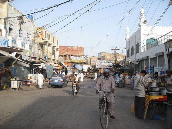 Город Бахавалпур. Пакистан. Архив