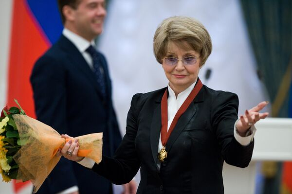 Оперная дива Татьяна Шмыга находится в реанимации в тяжелом состоянии