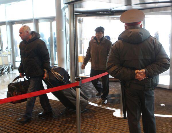 Усиление мер безопасности в аэропорту Домодедово