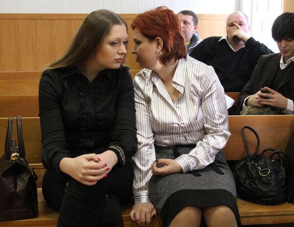 Заседание суда по делу Натальи Архипцевой