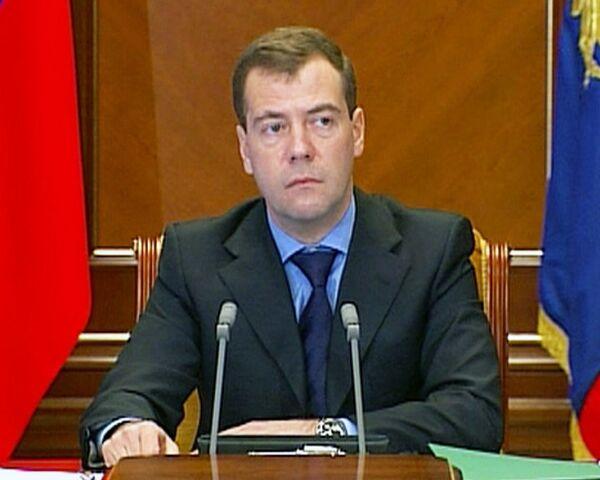 Медведев требует привести в чувства отвечающие за безопасность службы