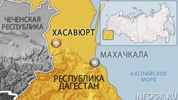 Хасавюрт. Карта