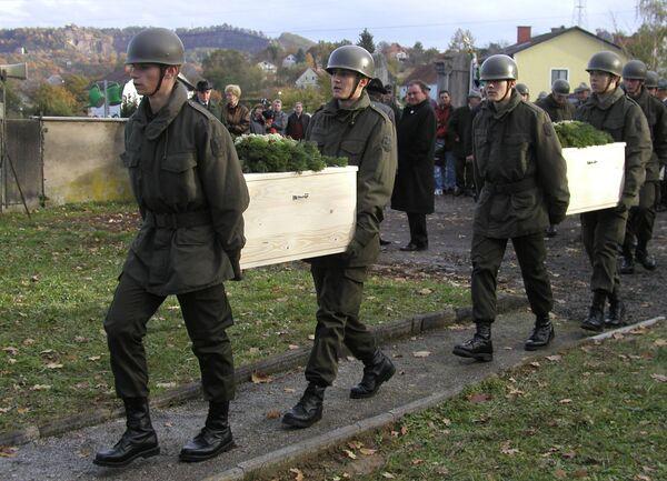 Памятные мероприятия по погибшим советским военнослужащим в Австрии