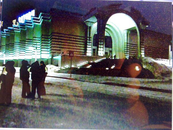 ТЦ Вегас на 24 км МКАДа, был срочно эвакуирован из-за угрозы взрыва