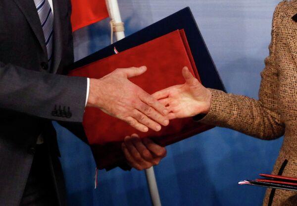 Договор по СНВ вступил в силу