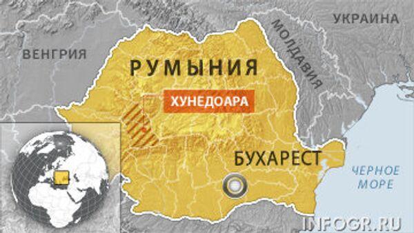 Взрыв на угольной шахте в Румынии