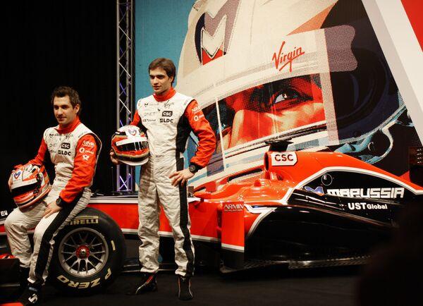 Пилот команды Marussia Virgin Racing Жером Д'Амброзио