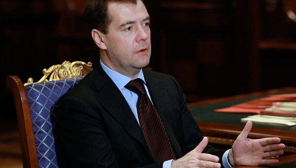 Встреча Дмитрия Медведева и Александра Жукова