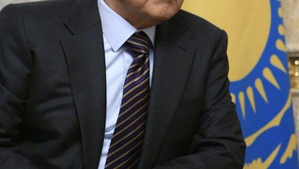 Президент Республики Казахстан Нурсултан Назарбаев. Архив
