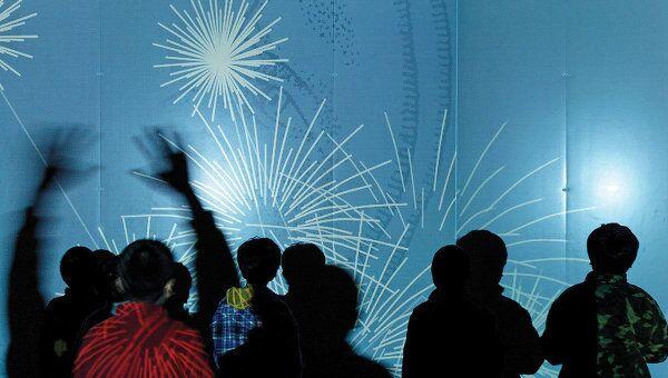 Выставка Decode: прикосновение к цифровому искусству