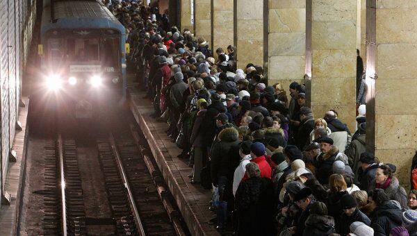 Сбой в движении поездов на Сокольнической линии московского метрополитена