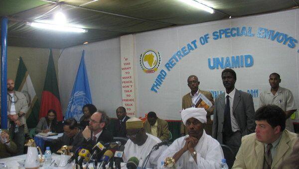 Конференция спецпредставителей по Судану стран-постоянных членов ООН и ЕС в Южном Дарфуре