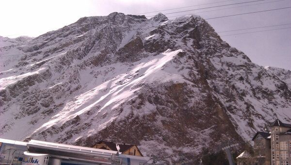 Канатная дорога на Эльбрусе