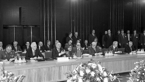 Организация Варшавского Договора (ОВД) была обречена