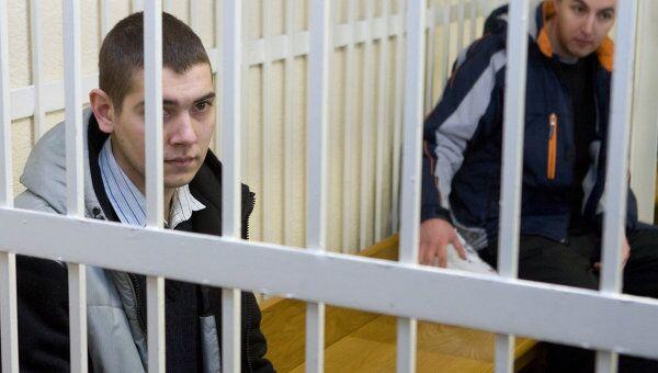 Россияне Иван Гапонов (на переднем плане) и Артем Бреус (на дальнем плане). Архив